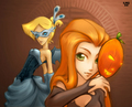 totally halloween - totally-spies fan art