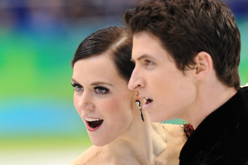 Tessa Virtue & Scott Moir wallpaper possibly with a portrait titled  CD 2010 Vancouver Olympics (Tango Romantica)
