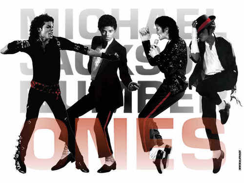 마이클 잭슨의 로봇 댄스 바탕화면 possibly with a hip boot, a legging, and tights titled ~MICHAEL JACKSON~