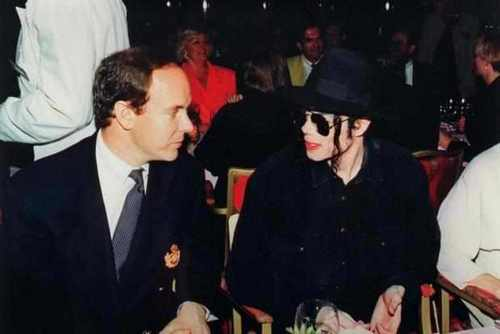 ~MICHAEL WITH PRINCE ALBERT~