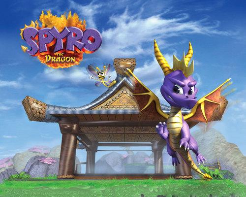 Spyro The Dragon Wallpaper Entitled 134