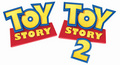 1st and 2nd movie logo - toy-story photo