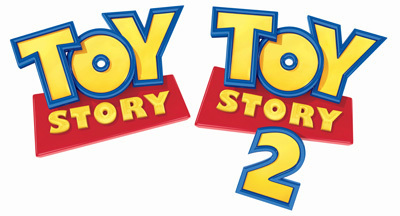 toy story wallpaper possibly with anime entitled 1st and 2nd movie logo