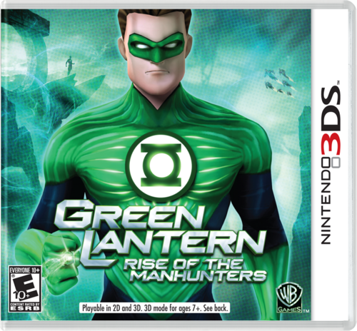 3DS game cover