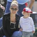 6/4 At the playground with Ellen Pompeo, Joel & kids