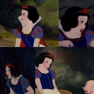 A Snow White Collage