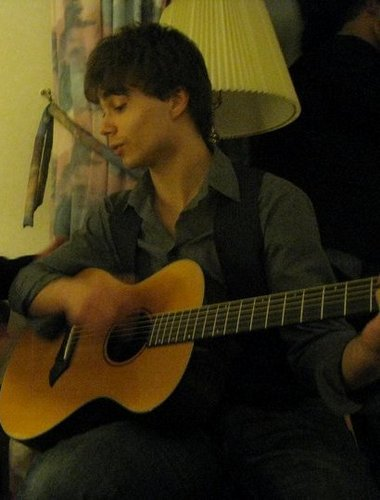 Alex playing the guitar :)