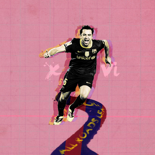 All roads lead to Xavi!