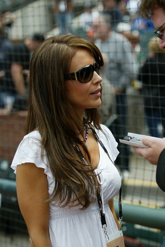 Alyssa - 78th Major League Baseball All-Star Game, July 10, 2007