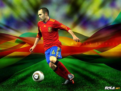 Andrés Iniesta Spanish National Team Hintergrund