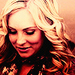 As Caroline Forbes :)