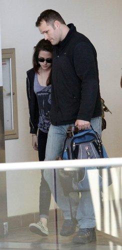 At LAX (June 6, 2011)