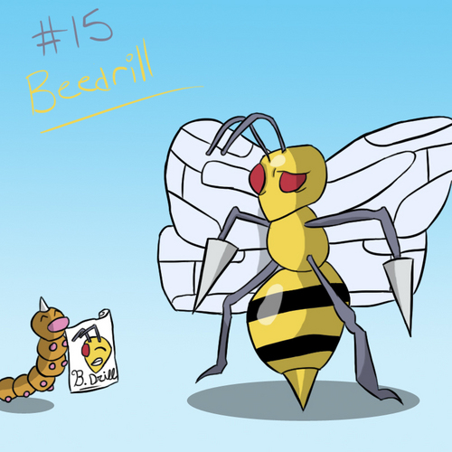 Pokémon wallpaper possibly with anime called Beedrill