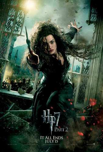 Bellatrix Deathly Hallows 2 Poster
