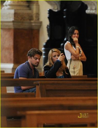 Blake Lively & Leonardo DiCaprio: Verona Sightseeing!