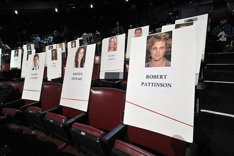 Blake's sitz at the MTV Movie Awards, 2011