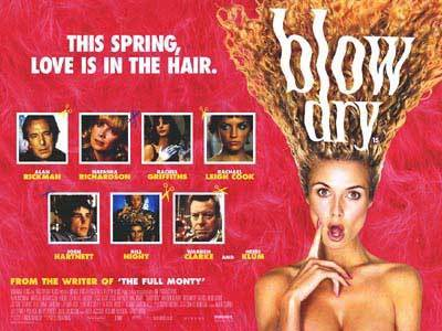 Blow dry 2001 movie poster