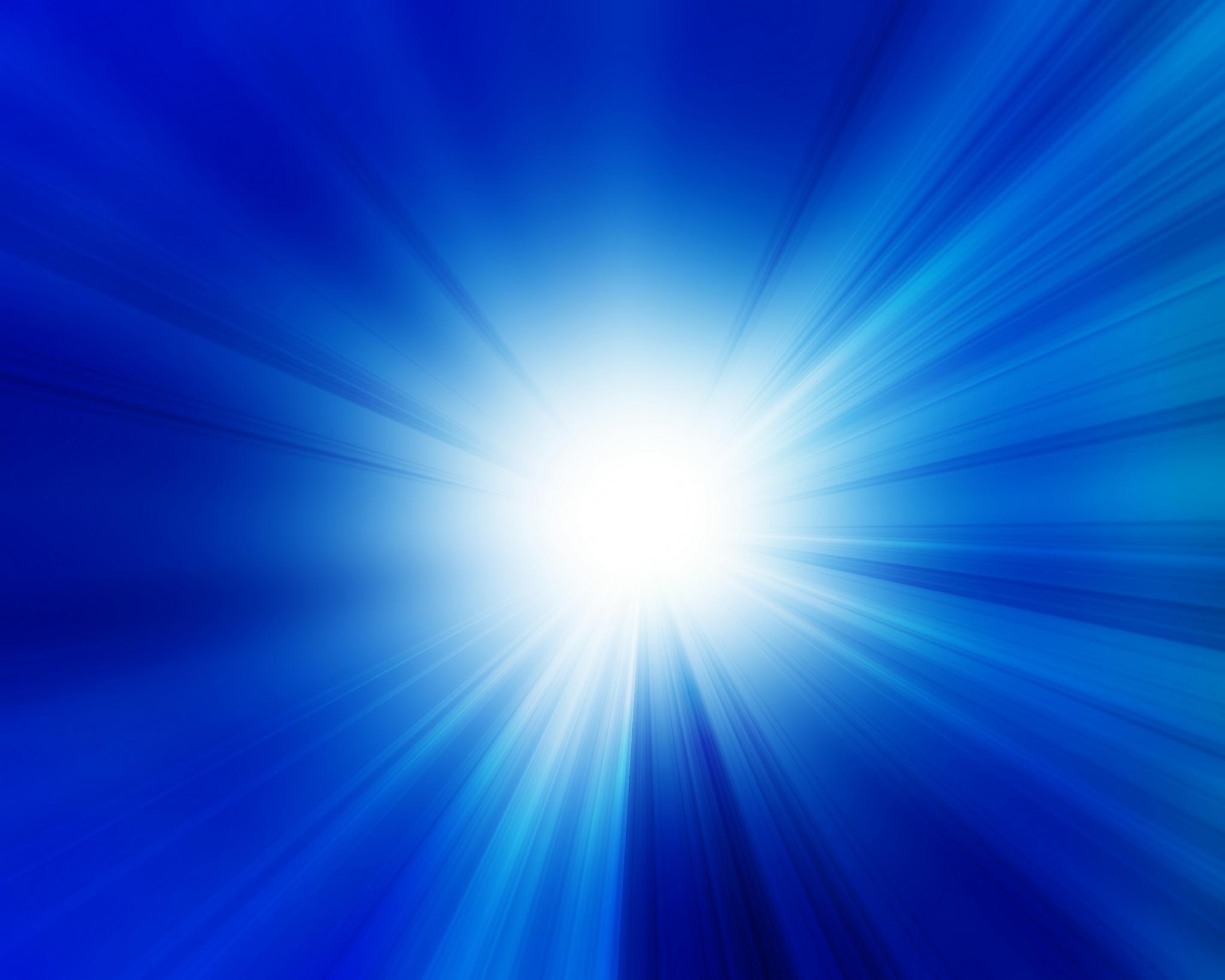 Blue Blue digital sky