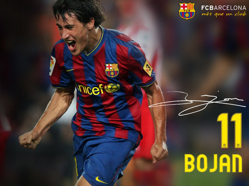 FC Barcelona wallpaper entitled Bojan Krkić 2009/10