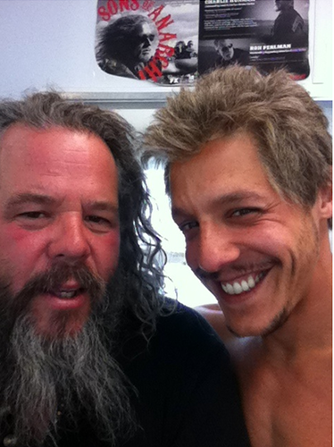Boone & Theo - sons-of-anarchy Photo
