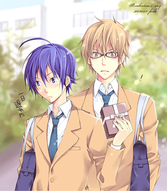 Boy Love Links http://www.fanpop.com/clubs/bakuman-yaoi/images/22647553/title/boys-love-photo
