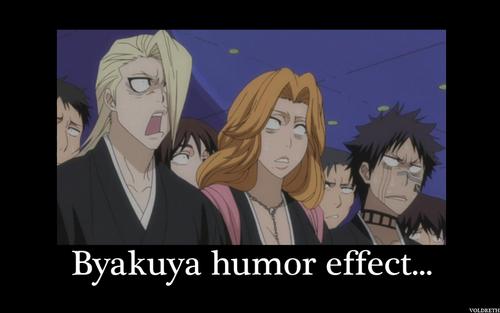 Byakuya Humor Effect