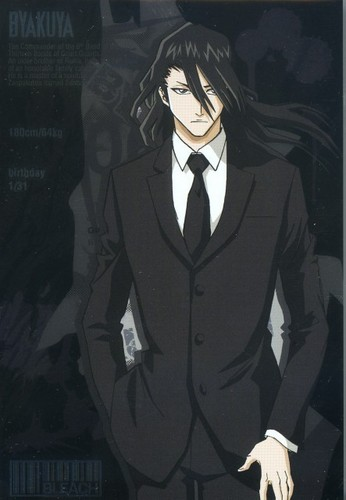 Byakuya in Formal Suit