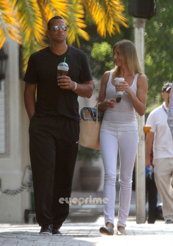 Cameron Diaz & A-Rod spotted out in Miami