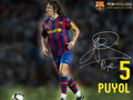 Carles Puyol Season 2009/10 - fc-barcelona wallpaper