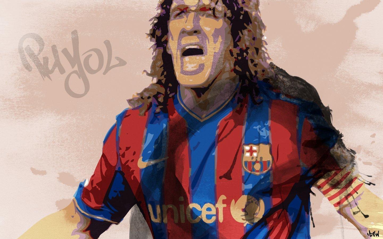 Carles Puyol Barcelona Jersey fc Barcelona Carles Puyol