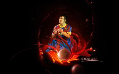 Carles Puyol fond d'écran