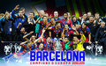 Champions of the 2010/11 CL! - fc-barcelona wallpaper