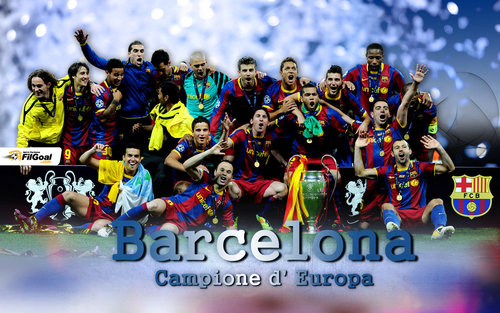 Champions of the 2010/11 CL!
