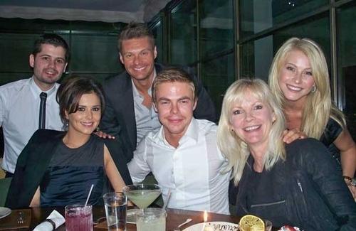 Cheryl @ Derek's Mum's birthday