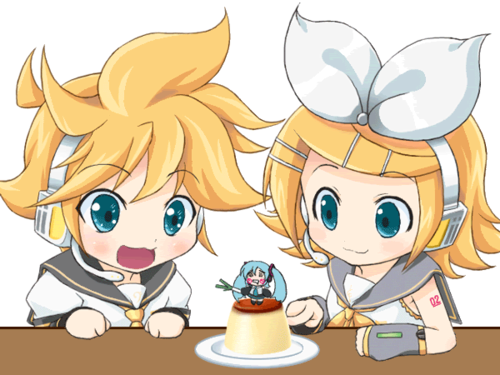 Rin and Len Kagamine images Chibi Twins >3