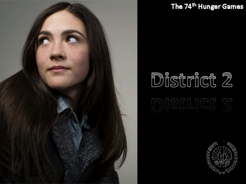 Hunger Games fond d'écran with a well dressed person and a portrait titled Clove