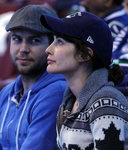 Cobie @ Vancouver Canucks Game