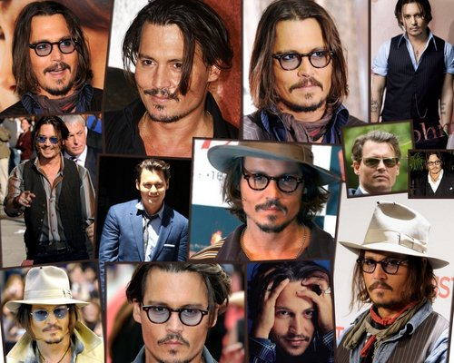 Collage - johnny-depp Wallpaper