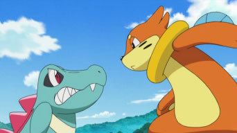 Confrontation With Buizel!