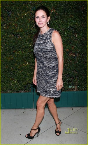 Courteney Cox: NRDC & Chanel Dinner!