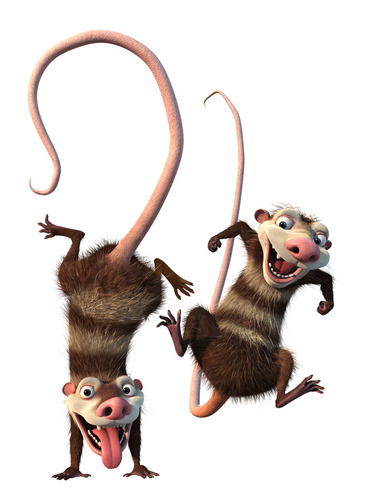 Ice Age wallpaper titled Crash and Eddie