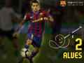 Dani Alves Season 2009/10 - fc-barcelona wallpaper