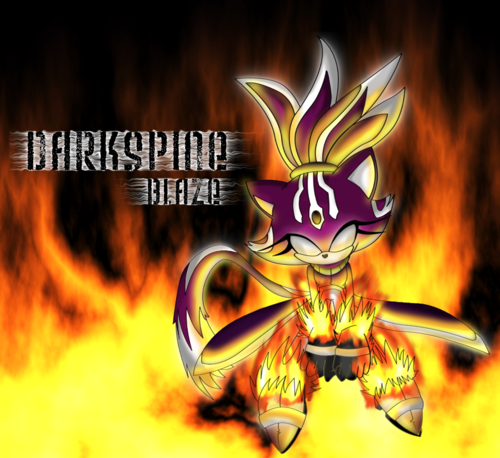 DarkSpine Blaze The Cat