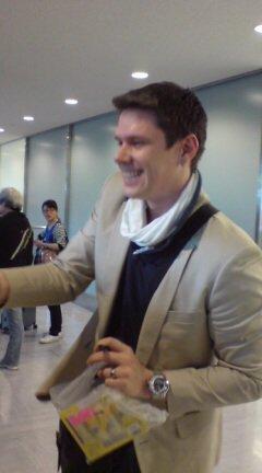 Dave arrived to japón