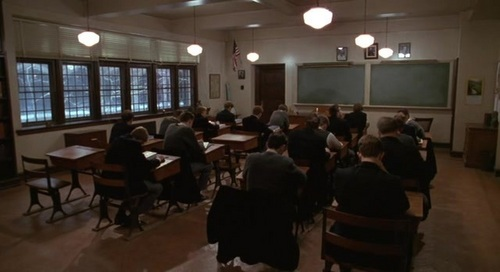Dead Poets Society wallpaper containing a boardroom, a restaurant, and a brasserie entitled Dead Poets Society
