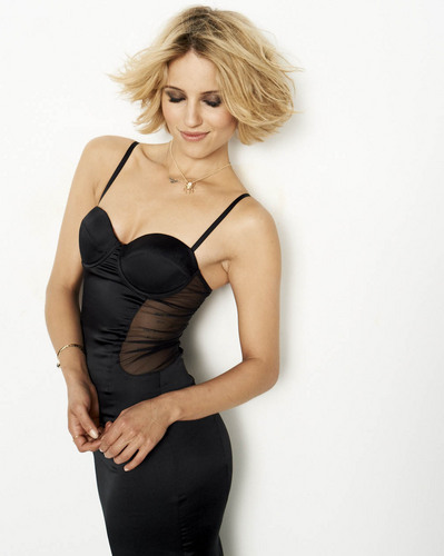 Dianna Agron wallpaper possibly with a bustier and a leotard titled Dianna Agron New Cosmo Photoshoot
