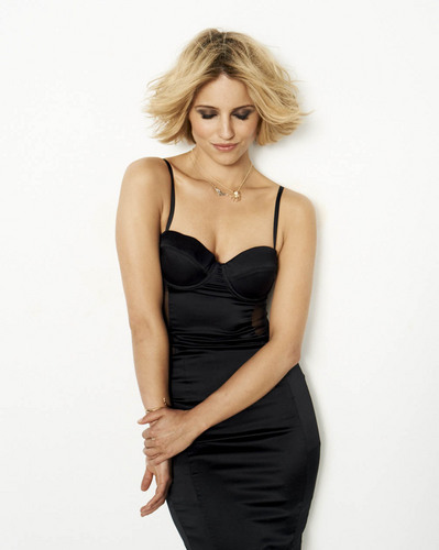 Dianna Agron wallpaper possibly containing a bustier, a leotard, and a cocktail dress entitled Dianna Agron New Cosmo Photoshoot