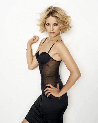 Dianna Agron wallpaper possibly with a bustier titled Dianna Agron New Cosmo Photoshoot