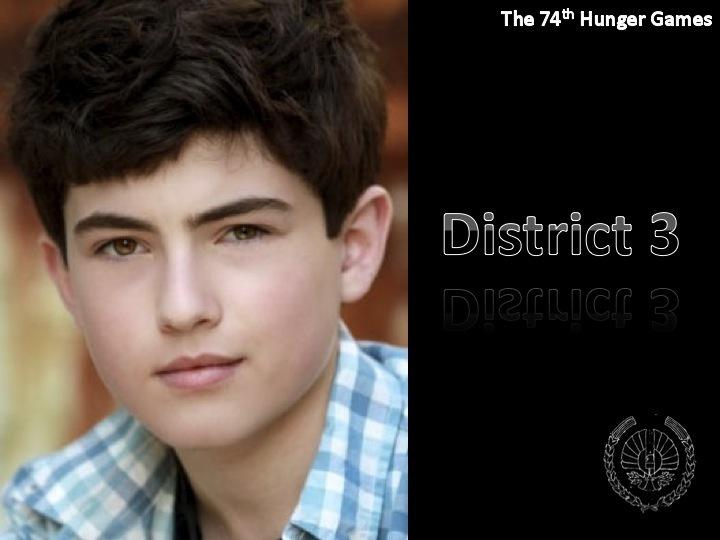 District 3 Tribute Boy