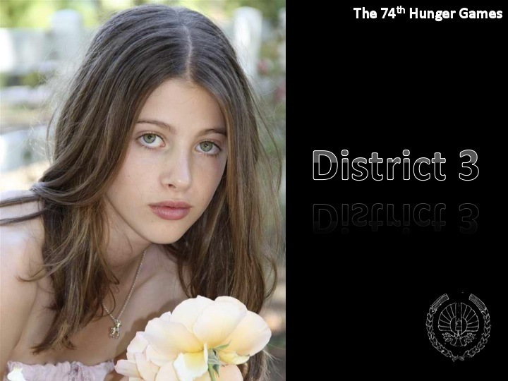 District 3 Tribute Girl